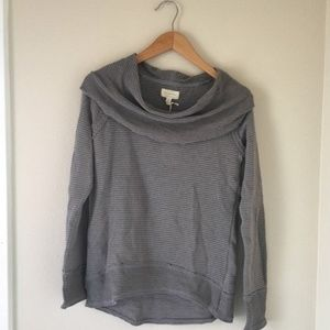 💛Lucky Brand Grey Knit Sweater